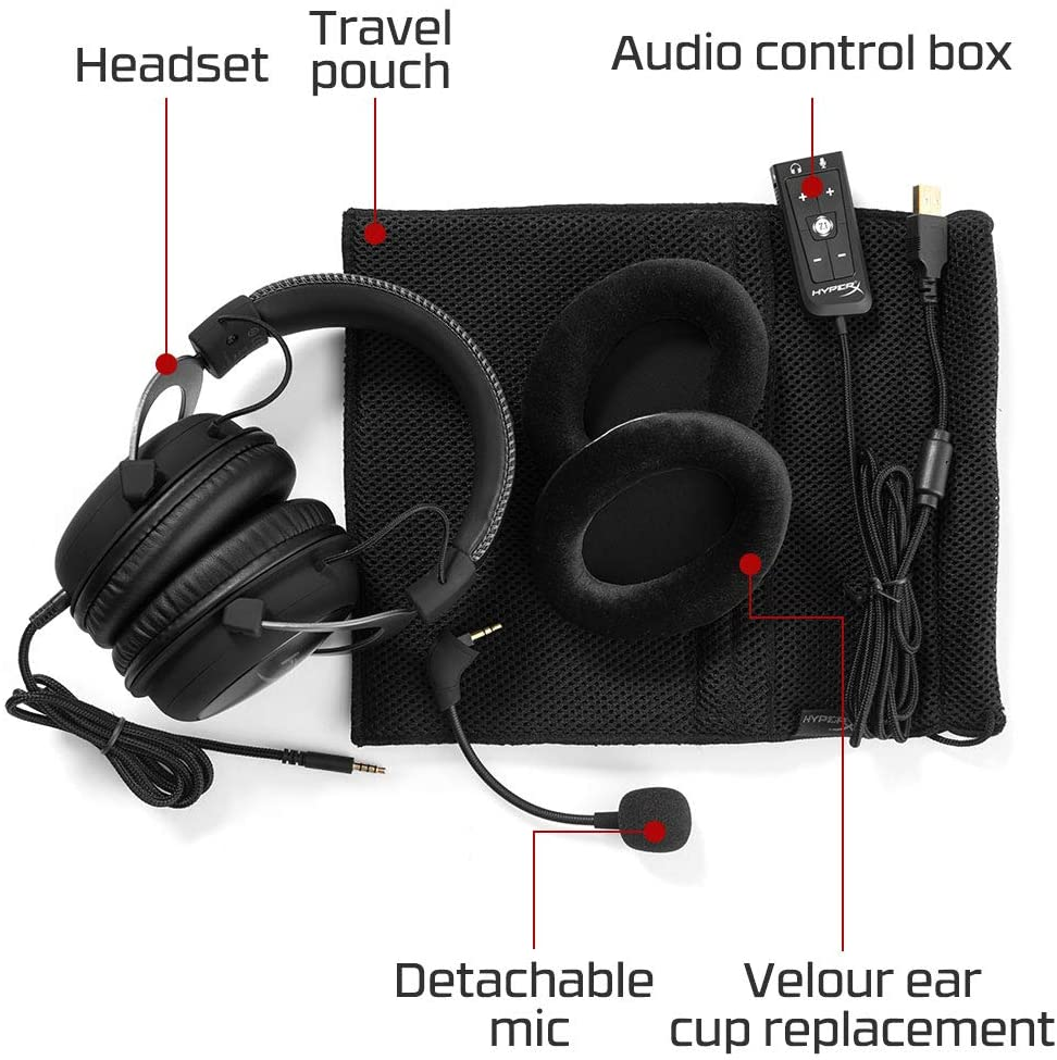 hyperx cloud ii gaming headset red heavyarm asia. Black Bedroom Furniture Sets. Home Design Ideas