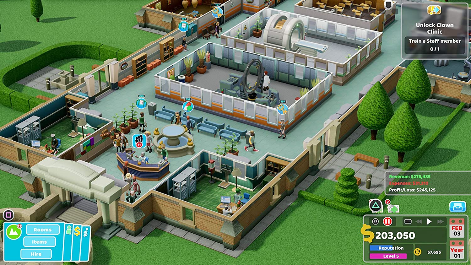 Switch Two Point Hospital Jumbo Edition (English/Chinese) * 雙點醫院 * –  HeavyArm Store